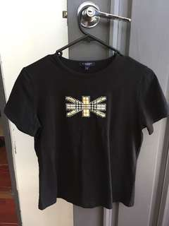 Burberry london women's tshirt