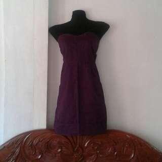 Purple Chic Tube dress