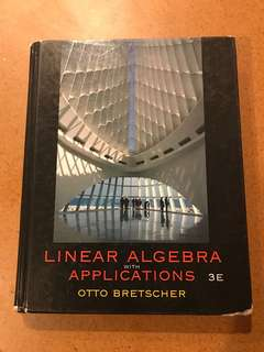 Linear Algebra with Applications 3E