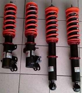 Honda city tmo (2009-2013) adjustable suspension