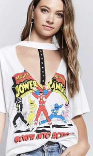 Topshop power rangers Tee