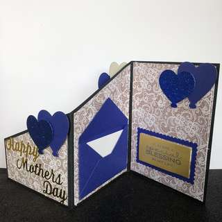 Mother's Day z fold card