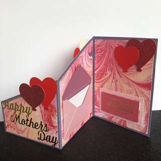 Mother day z fold card