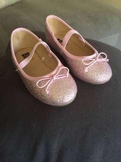 Brand new sparkly ballet flats sz11