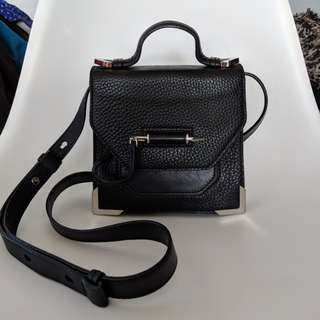 Mackage black leather rubie bag