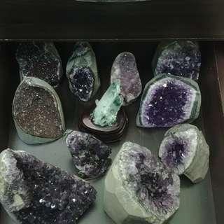 🚚 水晶 晶陣 晶簇 瑪瑙線 異相