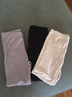 3x full length leggings brand new