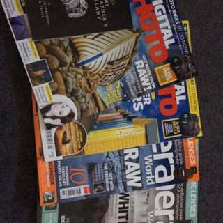 Photography magazines bundle