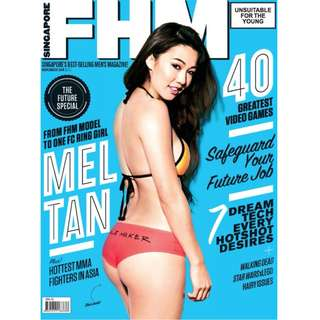 FHM Singapore - November 2014 Issue.