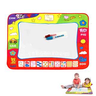 Kids Toys Water Mat Drawing Painting Toddler Board Magic Pen Childrens Gift