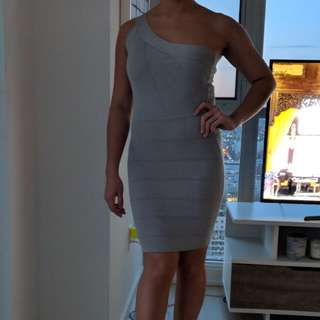 Marciano bandage dress, size small