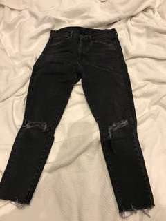Urban Outfitters classic ripped jeans