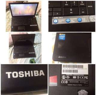 SALE! Toshiba Laptop