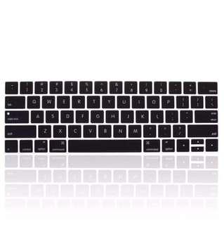 MacBook Pro with touchbar keyboard protector