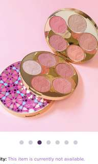 Tarte limited edition blush bazaar palette