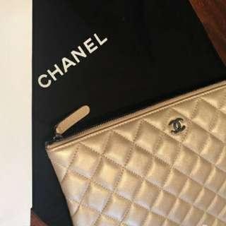 Chanel Pearl Lambskin O Case