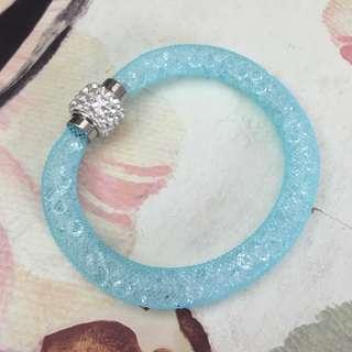 Swarovski inspired crystal bracelet