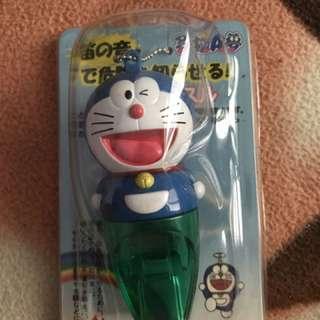 小叮噹 哆啦A夢哨子 吊飾 鑰匙圈 (日本購入)