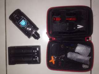 Vape SX mini G Class with tool kit & charger