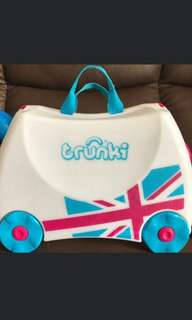 2pcs British Flag Trunki luggage