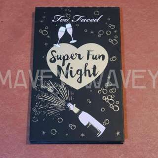 BRAND NEW Too Faced Super Fun Night