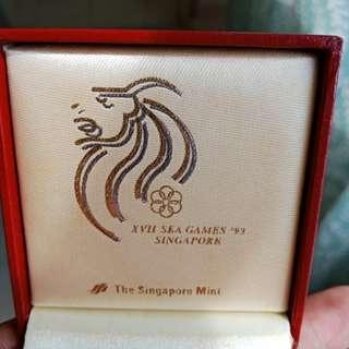 Sea Games S'pore 93 Silver Coin