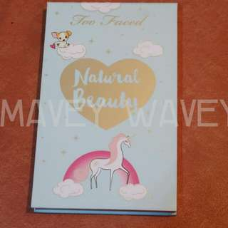BRAND NEW Too Faced Natural Beauty