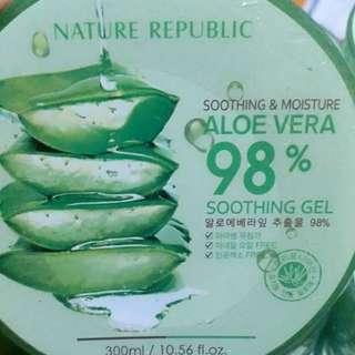 NR Aloevera 98% shooting gel ORIGINAL