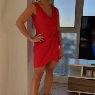 H&M red dress, size 6