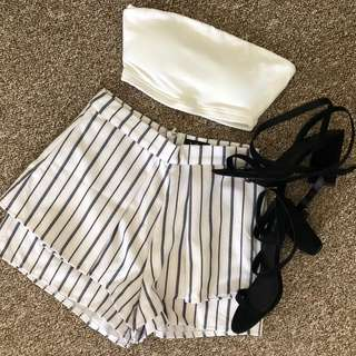 Shorts & Boob Tube