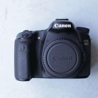 Canon 70d full box