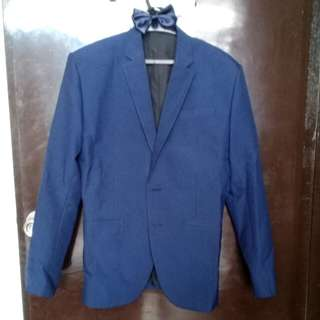 S/M COAT AND TIE. with longsleeves and pants