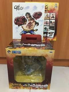Ichiban KUJI ONE PIECE BATTLE SELECTION - Luffy Gear 4 Prize A