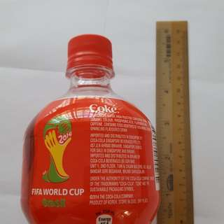 Coca Cola plastic bottle (350ml) limited edition