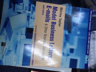 Model business letters, emails & other business documents 6th edition