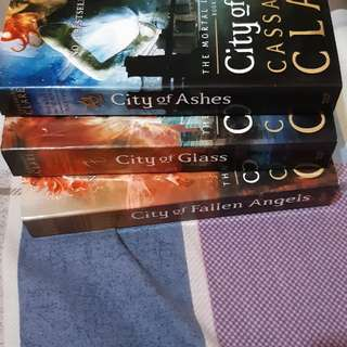 Mortal instrument books 1- 4
