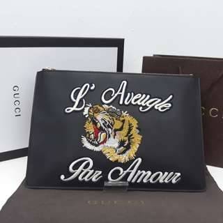 Gucci Clutch tiger