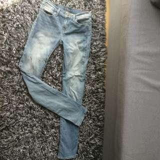 9成新 Lucky brand jeans 牛仔褲