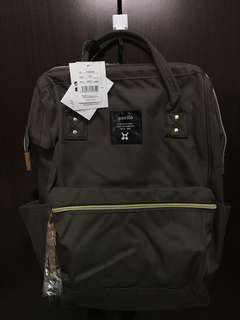 🔥MOVING OUT SALES🔥AT-B0193A (DarkGrey) Authentic Anello Large PolyesterCanvas Backpack