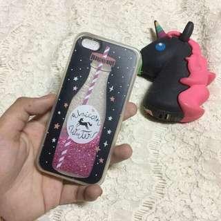 Glittery Liquid IPhone 5/5s/SE Case