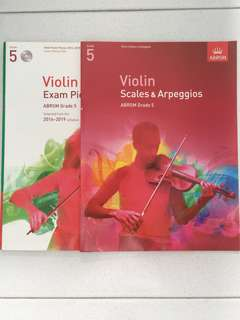 Grade 5 Violin Exam Pieces and Scales