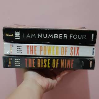 I AM NUMBER FOUR book 1 - 3
