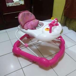 Baby walker family pink