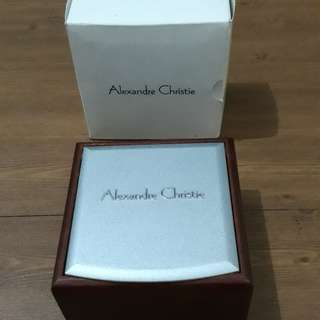 Box Jam Tangan Alexandre Christie