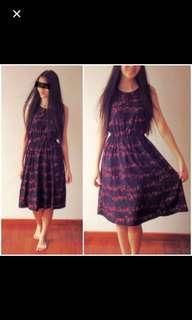 BN Midi little cottage dress