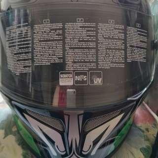 全新Agv T-2 XL61-62全罩安全帽