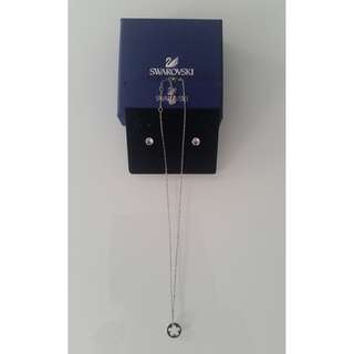 SWAROWSKI Crystal Earrings and Necklace