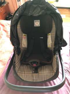 Baby carrier and baby seat
