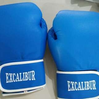 Boxing Gloves Excalibur Blue14oz, Blk16os