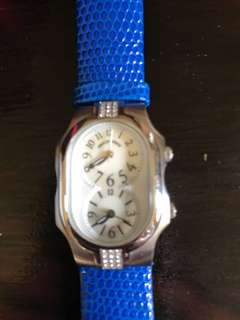Philip Stein watch with 24 Diamond size small